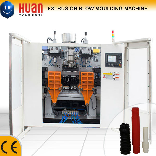 TPU rubber pipe extrusion blow moulding machine