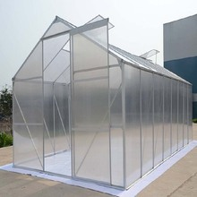 Quality assured agriculture commercial plastic multi span greenhouse
