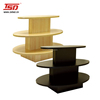 TSD-W380 retail store 3 tier MDF wooden clothes retail display table/store display table/shoe display table