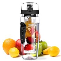 TENGHUA 32OZ High Quality Water Infuser Bottle, BPA FREE Infuser Water Bottle, Fruit Infuer Water Bottle For Sport