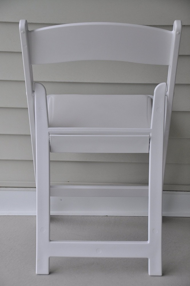 White Event/Banquet/Wedding Resin Amecana/Canada/Europ Folding Chair