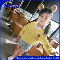 2017 New style summer garments for child outdoor kid wear sunproof baby gril clothing