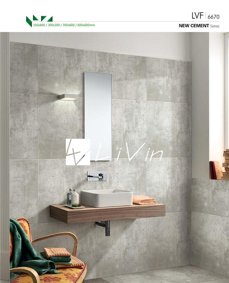 Foshan beroemde merk badkamer tegel ontwerp cement tegel ...