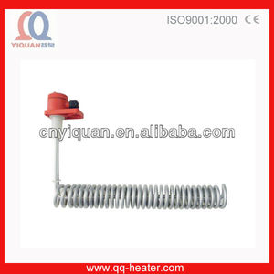 L-shaped Electric PTFE Immersion Heater For Process Heating