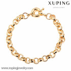 70564- Xuping copper bracelet jewelry charms for bracelet making with neutral