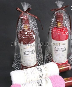 Wine Christmas Packaging.Fashion Cute Creative Cotton Lovely Wine Bottle Box Packaging Washcloth Gifts Colours Towel Wedding Christmas Gift Souvenir Buy Wine Bottle