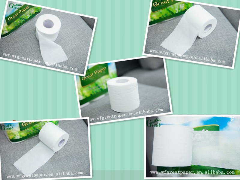 OEM China supplier funny toilet paper specifications standard roll