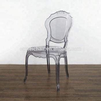Cristal De Mariage Princesse Chaise Transparente Belle Epoque