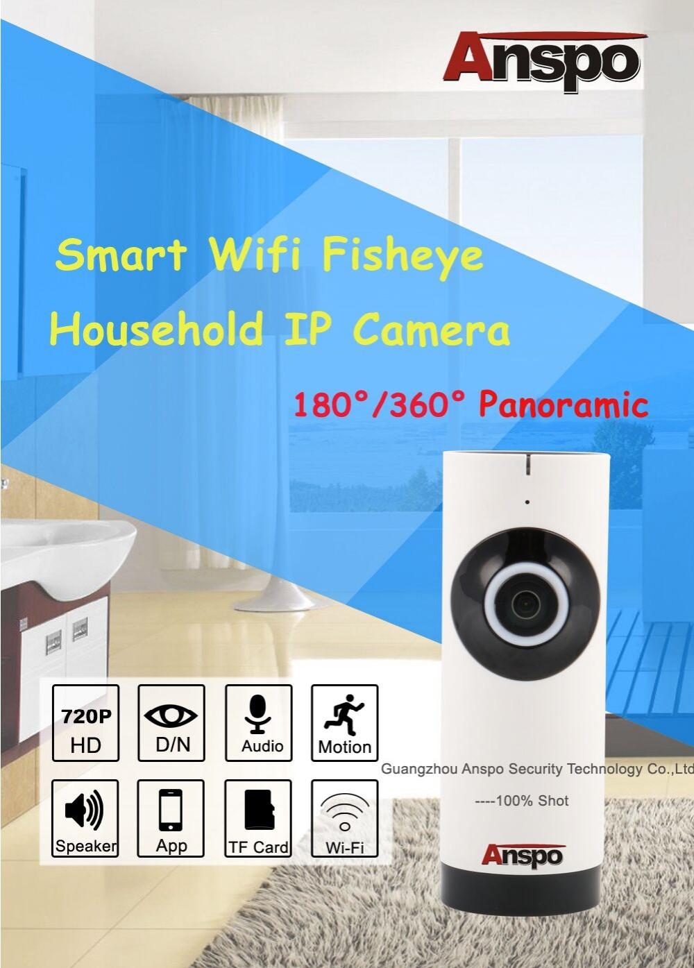 Anspo Wifi Smart Net Camera V380 Wireless Ip Camera 1 0 Sd Card Wifi Ip  Camera From Factory - Buy Sd Card,Wifi Smart Camera,Cheap Home Security  Camera