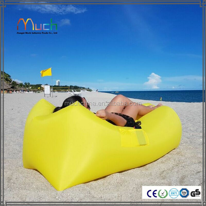 Hot new inflatable sofa beach with pocket