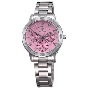New Fashion Stainless Steel Band Image Women Quartz Watches