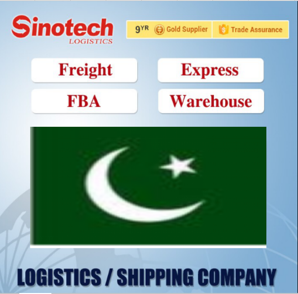 sea air shipment lcl consolidater from guangzhou china to pakistan