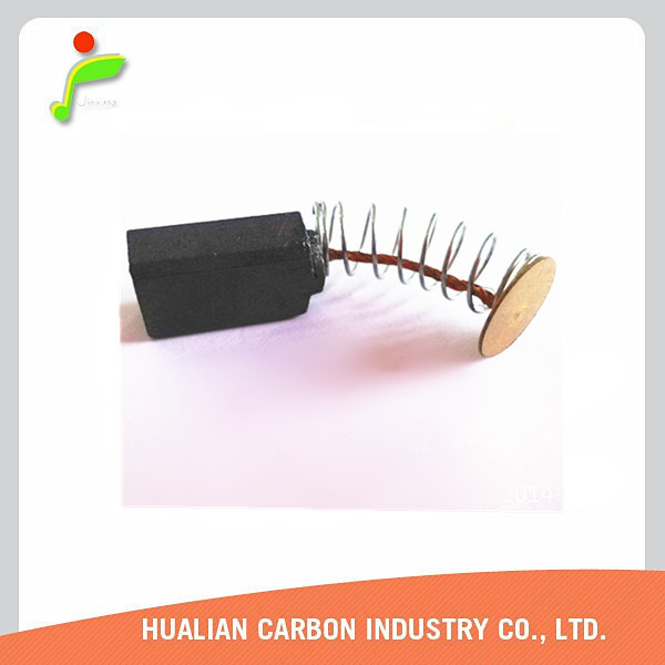 Auto Carbon Brush/Carbon Brush for Circular Saw/Washing Machine Carbon Brush with Standard Exporting Packing