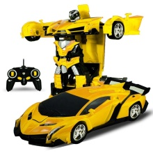 Pletom 1:18 Scale 360 Degree Pletom Rotating Transforming Remote Control Smart Robot Toy Car Transform for Sale