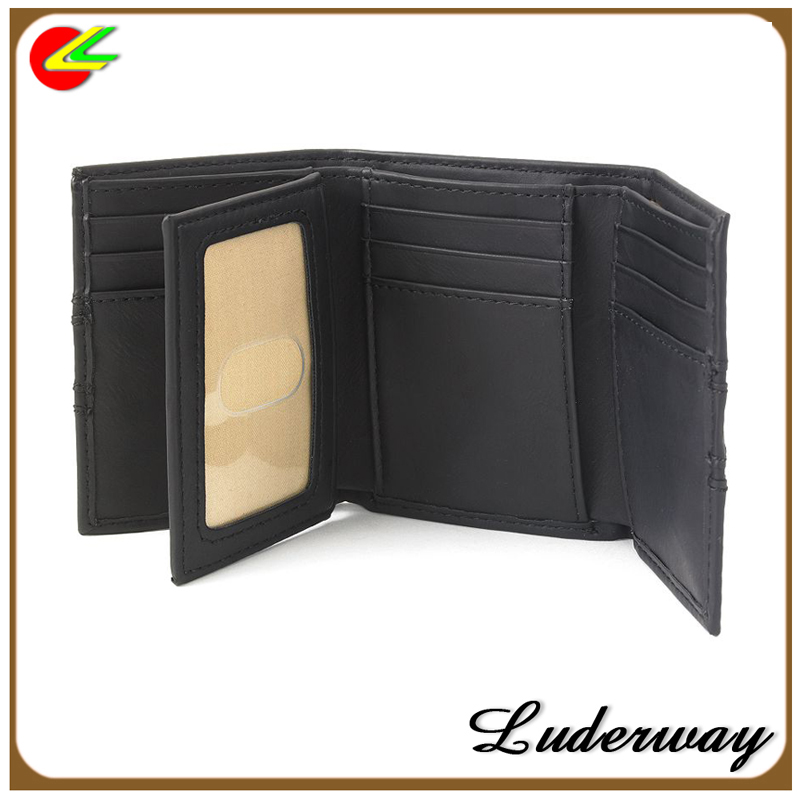 2016 new designer purses/extra-capacity trifold card holder wallet