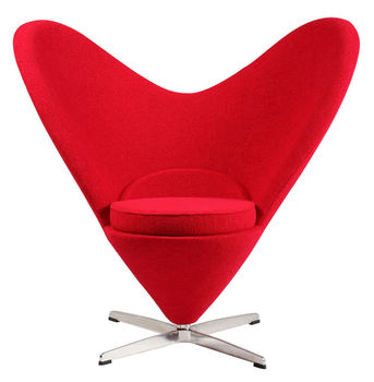 Elegant Max Studio Home Furniture Heart Shaped Chair