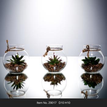 High Quality Clear Poke Ball Terrarium Flower Glass Vase Buy Glass