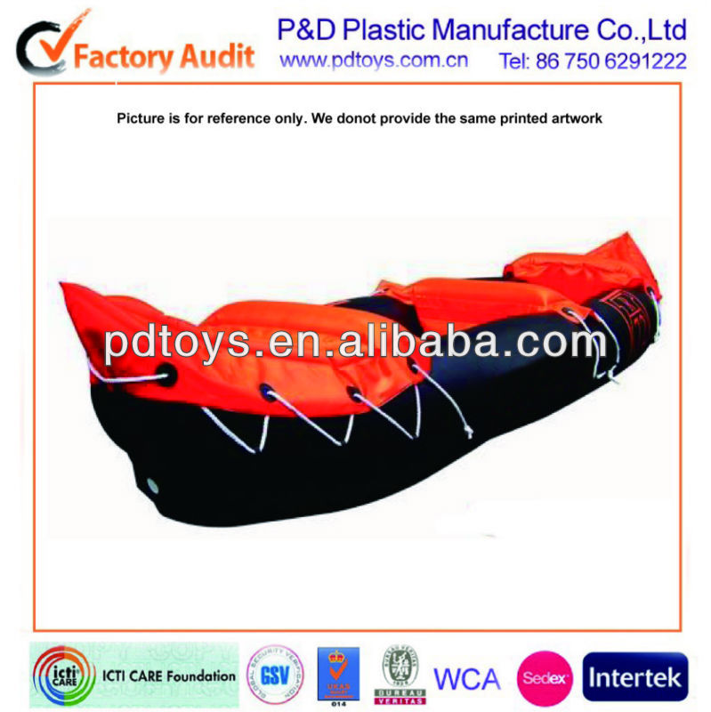 pvc inflatable fishing kayak