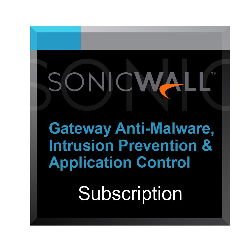 Gateway Anti-Malware, Intrusion Prevention & Application Control for DELL SonicWALL TZ300 - 5 Years