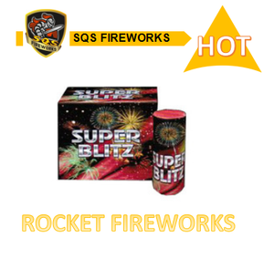 Wholesale assorted luck combined big rocket fireworks super blitz rocket fireworks