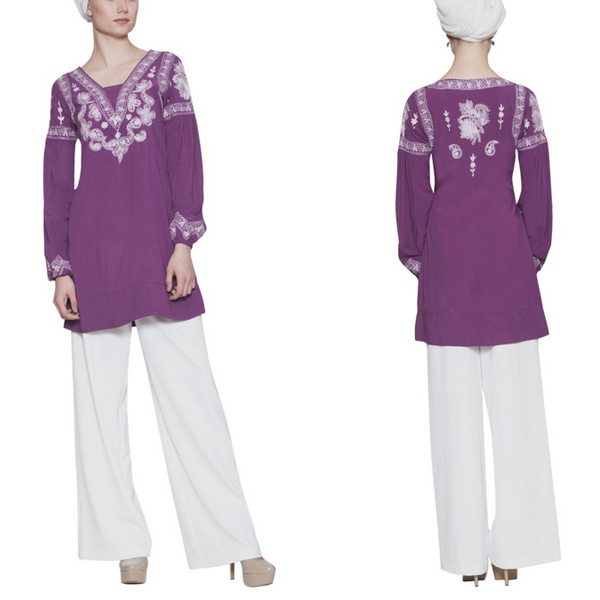 Latest Burqa Designs Abaya Muslim Women Tunic Tops Pictures