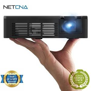 PLED-W600 WXGA Ultra-Portable LED Projector - Free NETCNA Touch Screen Pen - By NETCNA