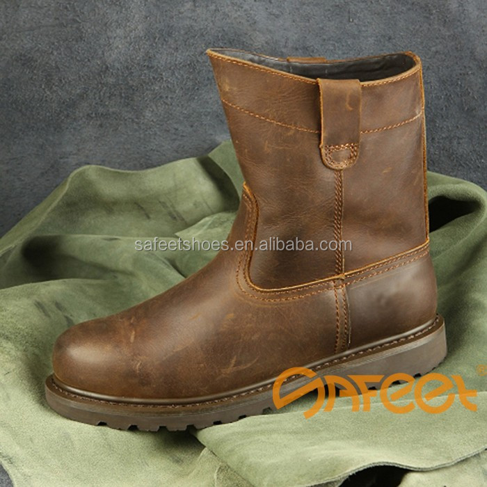 High-ankle Safety Shoes CE, SB, SBP, S1, S1P, S2, S3, Safety Boots SA-3301