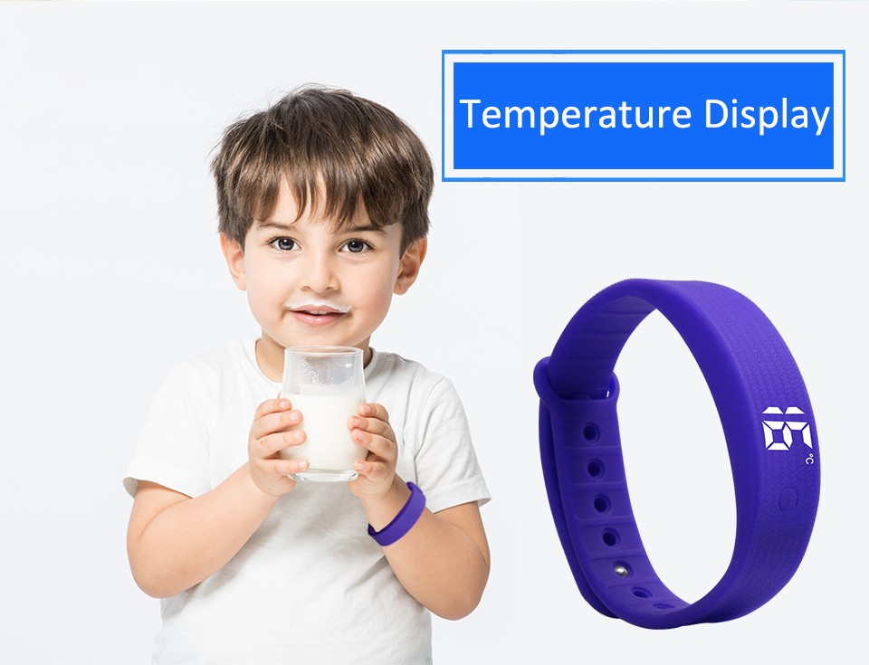 Promotional 3d Pedometert Silicone Led Sports Wristwatch Children Wristwatch