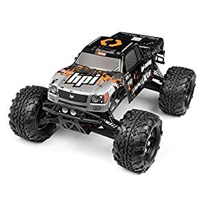HPI RACING 109883 Nitro GT-3 Truck Painted Body Silver/Black by HPI Racing