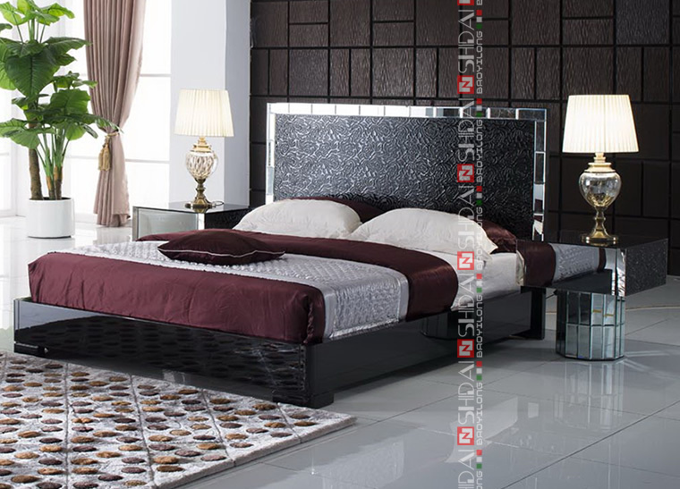 LV-B807 Bedroom furniture made in vietnam / bedroom furniture in china / bedroom furniture made in malaysia