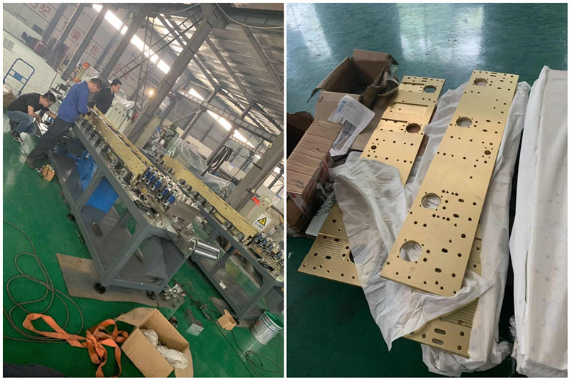 Light Frame Steel Villa House Keel Roll Forming Machine Made in China