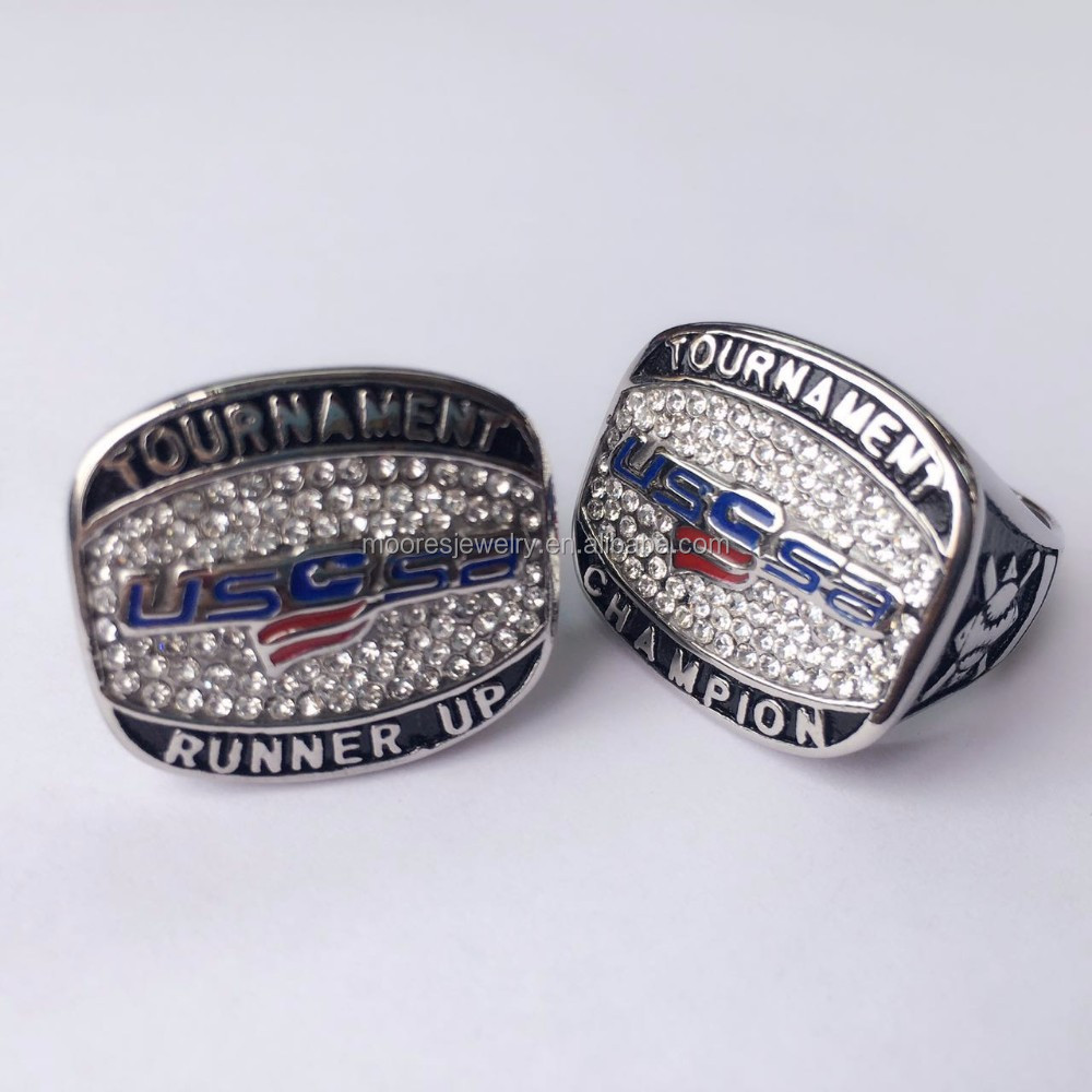 ring logo promise new tungsten patriots pin softball w wedding silver england rings ebay engraved
