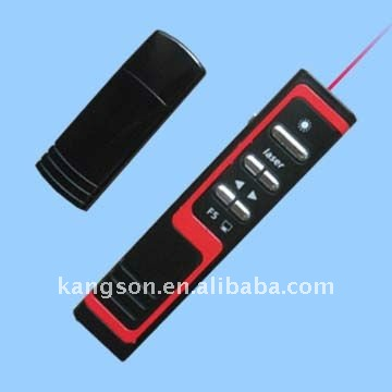 rf wireless presenter laser pointer /presentation pen