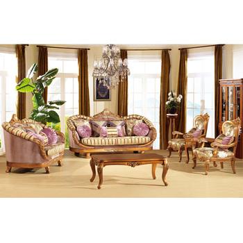 S2198 Foshan Sofa Möbel Royal Set