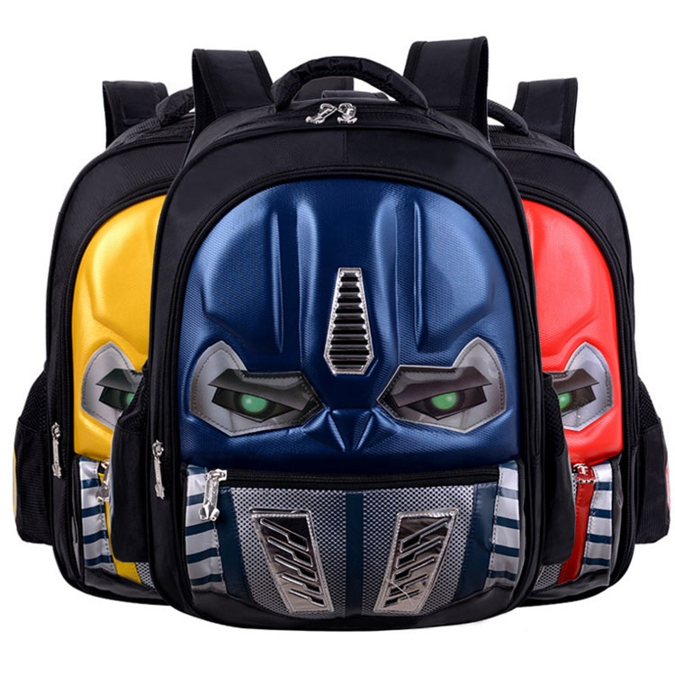 Boys Ultraman characters primary <strong>school</strong> 3D waterproof backpack bag bag <strong>school</strong>