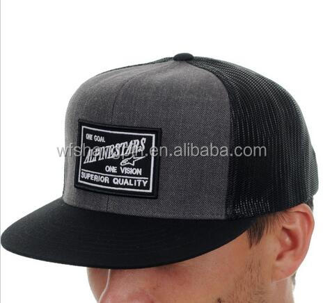 Custom Embroidery Patch Trucker Cap