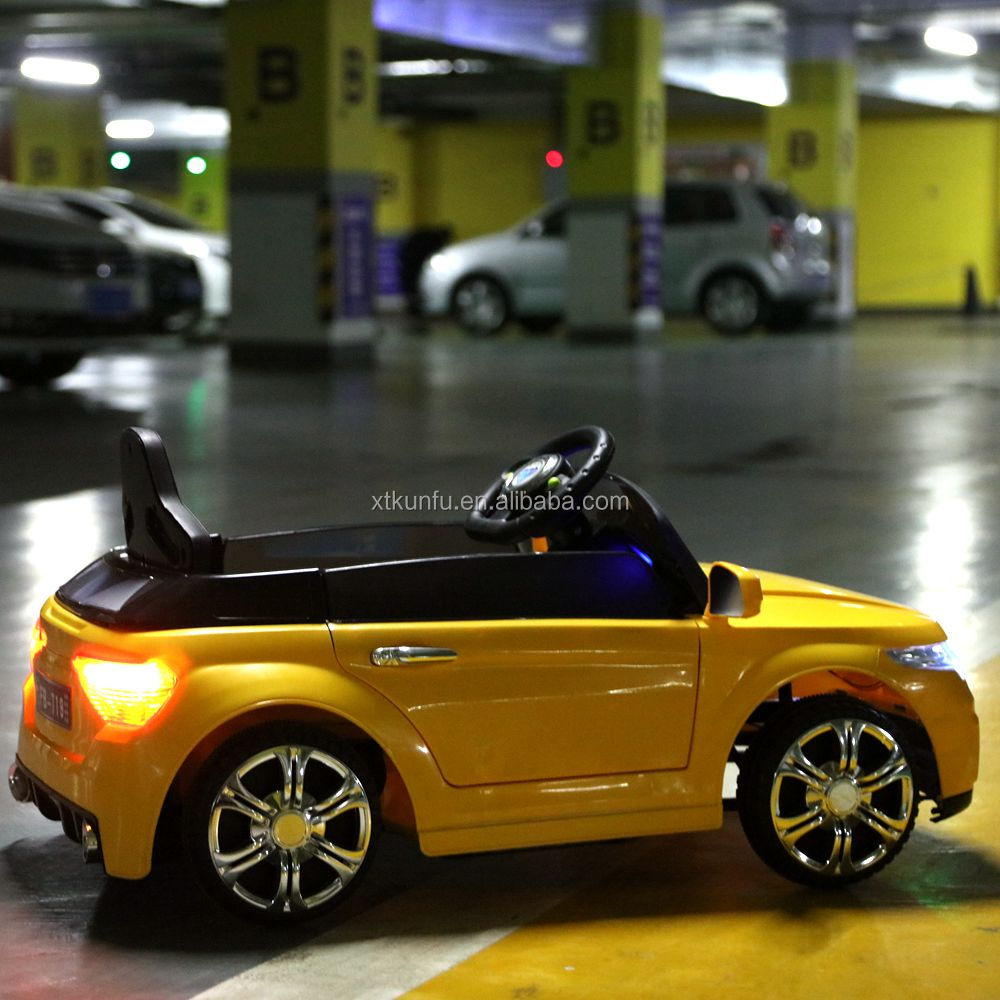 CE proved good quality kids electric ride on car bugatti with MP3 music
