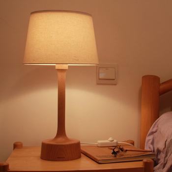 creative originale h tre bois chambre lampe de chevet. Black Bedroom Furniture Sets. Home Design Ideas