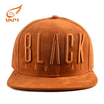 511c98c95ba Custom Suede 6 Panel 3D Embroidery Hat Yupoong Flexfit High Quality Hip Hop  Snapback Cap
