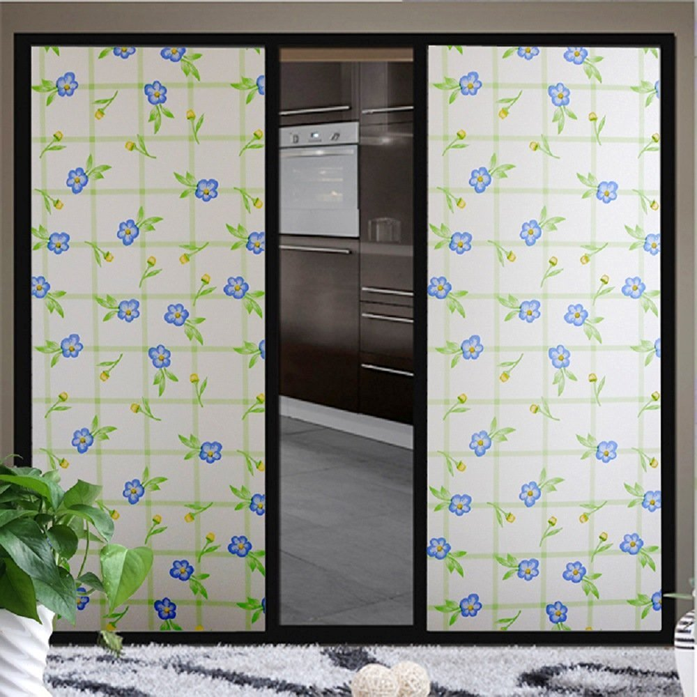 rabbitgoo 3ft x 3d no glue static decorative frosted.htm buy 35 x 16ft privacy decorative uv static cling window film  decorative uv static cling window film