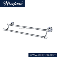 China Supplier Bathroom Accessories The American Company Delta Porcelain Double Towel Bar