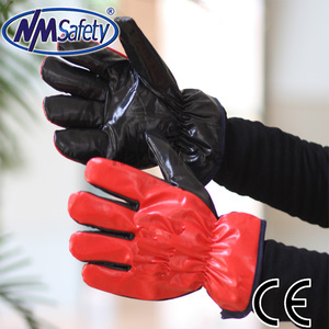 NMSAFETY nitrile impregnated glove fabric for winter use