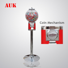 2018 hot product capsule toy candy gum ball bouncy ball vending machine with stand