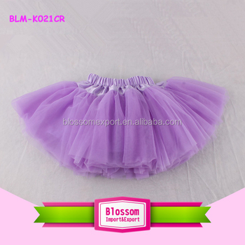 Purple Baby Pettiskirt Country Girl tutu Skirt Rustic Chiffon Girl Fluffy Skirt toddler Tutu