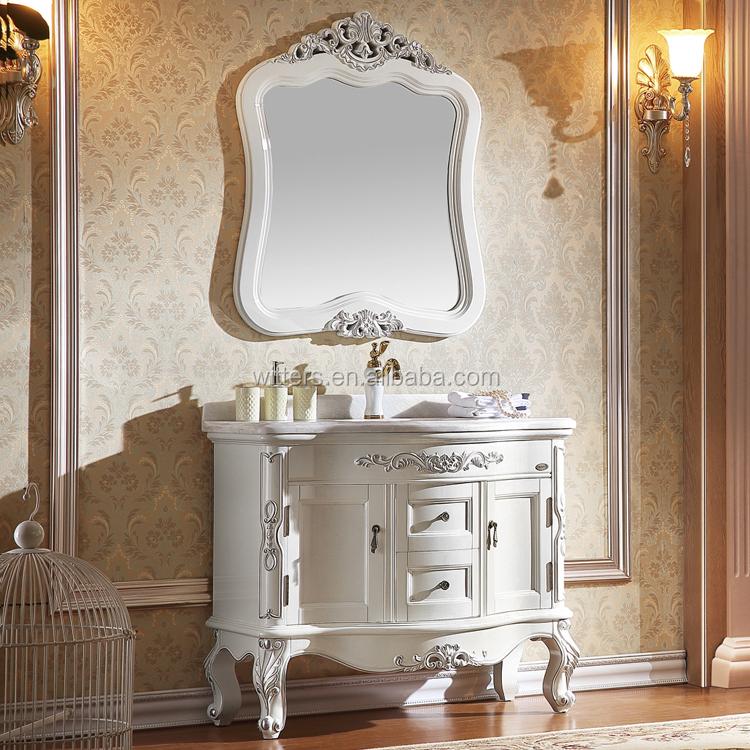 Latest European Style Vanity Unit Design Vintage Bathroom Vanities Mirror Cabinet Beautiful Bathroom Furniture Wts819 Buy Bathroom Cabinet White European Vanity Vintage Bathroom Vanity Product On Alibaba Com