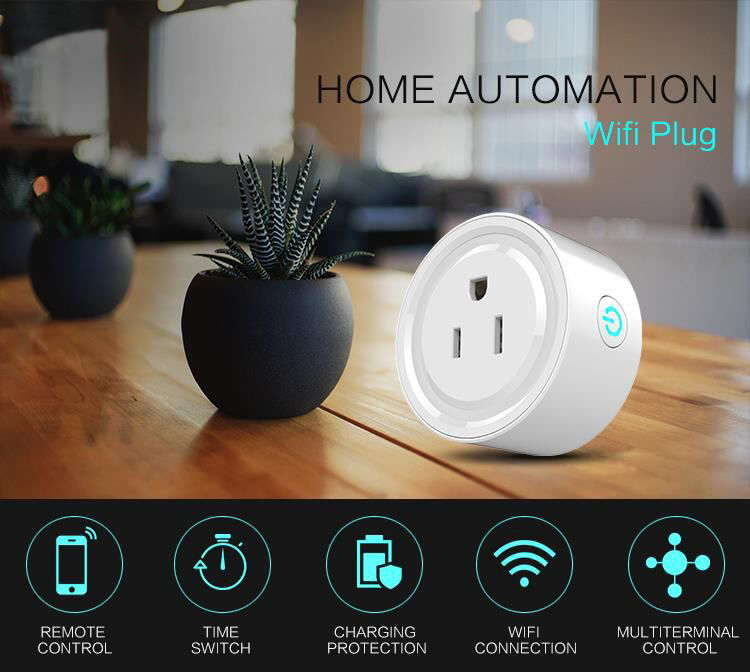Amazon Echo Alexa Voice Control System Mini Wifi Smart Power Socket for US