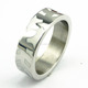 fashion jewelry 316L stainless steel men energy ring