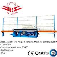 12 motor ball bearing glass multi stage angle changing machine BDM12.325PW