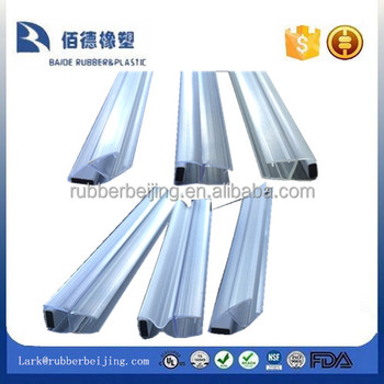 U Shape Sliding Glass Shower Door Seal Strips Buy U Shape Sliding