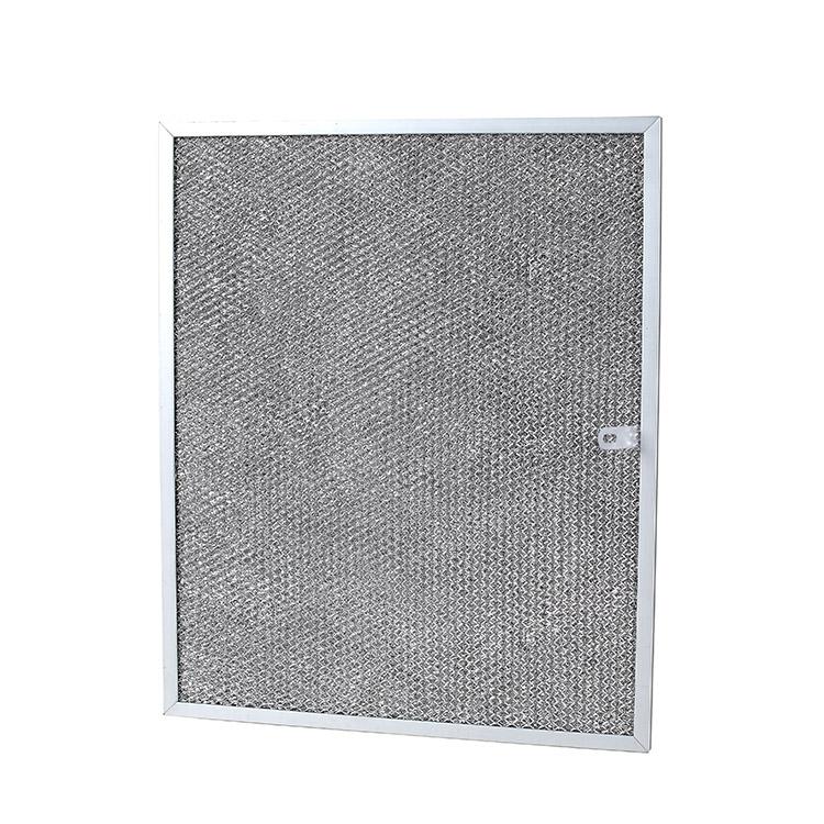 Customized kitchen range hood aluminum mesh filter